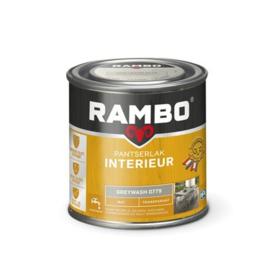 Rambo Pantserlak Interieur Greywash 0779 MAT 250 ml