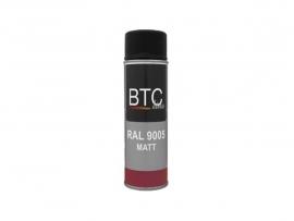 BTC Spuitbus RAL 9005 Zwart Mat 400 ml