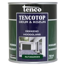Tencotop Deur & Kozijn Dekkend Hoogglans Rijtuiggroen 750 ml