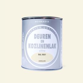 Hermadix  Deuren en Kozijnenlak RAL 9001 750 ml