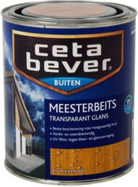 Cetabever Meesterbeits UV Glans Transparant - Licht eiken 006 - 750 ml