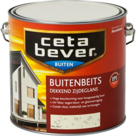 Cetabever Buitenbeits  Dekkend RAL 9001 2,5 liter