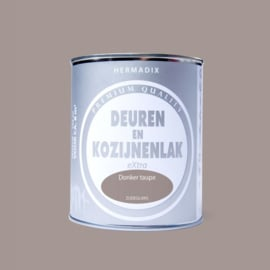 Hermadix  Deuren en Kozijnenlak Donker Taupe 750 ml