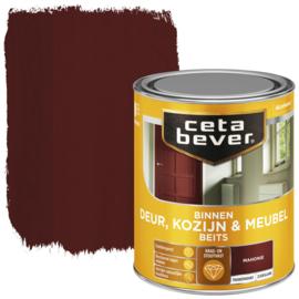 CetaBever Deur-, Kozijn- en Meubelbeits Mahonie Zijdeglans 750 ml
