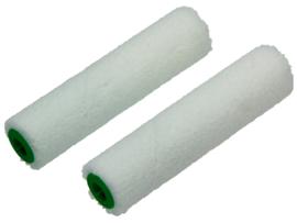 Veloursroller voor blanke lakken 2 stuks  10cm