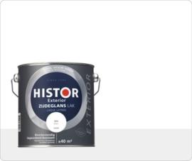Histor Exterior Lak Zijdeglans Wit 6400 2,5 Liter