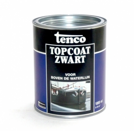 Tenco Topcoat Zwart 1 Liter