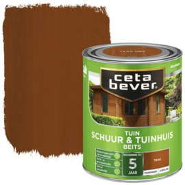 Cetabever Schuur & Tuinhuis Beits ZG Transparant Teak 750 ml