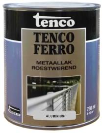 Tenco Ferro Roestwerende IJzerverf  Zijdeglans Aluminium 750 ml