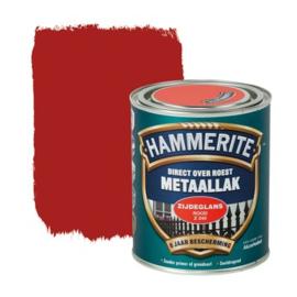 Hammerite Metaallak Zijdeglans Rood Z240 750 ml