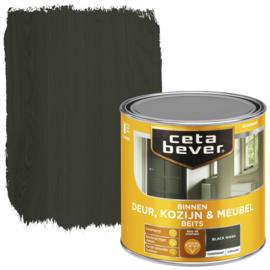 CetaBever Deur-, Kozijn- en Meubelbeits Black Wash Zijdeglans 250 ml