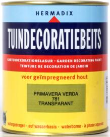 Hermadix Tuindecoratiebeits 781 Primavera Verda Transparant 750 ml