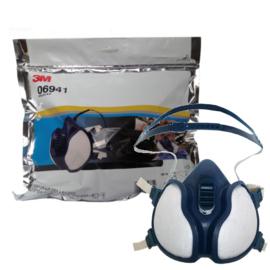 3M  Verfdamp Spuitmasker FFA1P2 (gebruiksklaar)