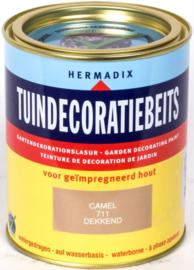 Hermadix Tuindecoratiebeits 711 Camel Dekkend 750 ml