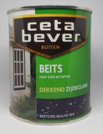 Cetabever Tuinbeits Dekkend Zijdeglans Bretonsblauw 904 750 ml