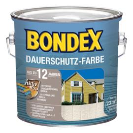 Bondex Dauerschutz Farbe 800 Schneeweiss 750 ml