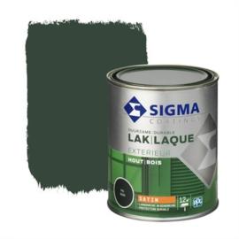 Sigma Lak Exterieur Hout Zijdeglans RAL 6009 750 ml