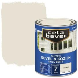 Cetabever Snel Beits Gevel & Kozijn Dekkend RAL 9001 750ml