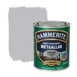 Hammerite Metaallak Zijdeglans Zilvergrijs Z215 750 ml