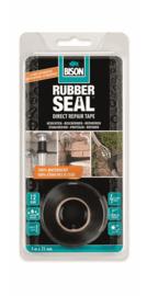 Bison Rubber Seal Reparatietape 5 meter x 2,5 cm