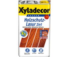 Xyladecor Holzschutz lasur 2 in 1 Eiche- Hell 2,5 Liter