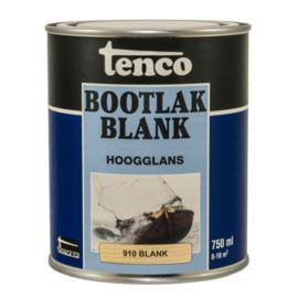 Tenco Bootlak Hoogglans Blank 250 ml