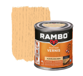 Rambo Pantser Vernis Zijdeglans Kleurloos 0000 250 ml