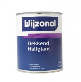 Wijzonol Dekkend Halfglans 1 Liter