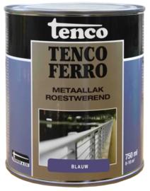 Tenco Ferro Metaallak Roestwerend Zijdeglans Blauw 750 ml