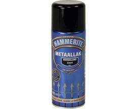 Hammerite Metaallak Hoogglans S060 Zwart Spuitbus 400 ml