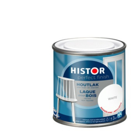 Histor Perfect Finish Houtlak Hoogglans White  250 ml