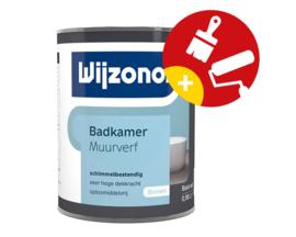 Wijzonol Badkamer Muurverf Schimmelwerend 1 Liter