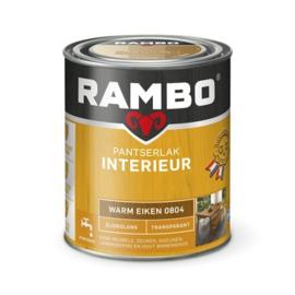 Rambo Pantserlak Interieur Warm Eiken 0804 ZIJDEGLANS 750 ml