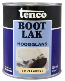 Tenco Bootlak Hoogglans 903 Zaanscreme Waalgeel 750 ml