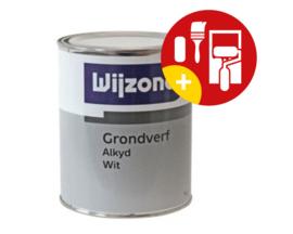 Wijzonol Grondverf Alkyd Wit 1 Liter