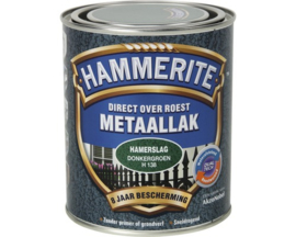 Hammerite Metaallak Hamerslag Donkergroen H138 750 ml