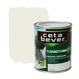 CetaBever Tuinbeits Plus R³  Dekkend Zijdeglans RAL 9010 750 ml