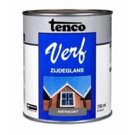 Tenco Verf Zijdeglans Antraciet 7016 750 ml