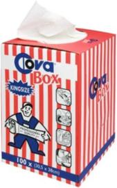 Covabox  schoenmaakdoekjes 30,5x58 cm a 100 stuks
