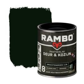 Rambo Pantserlak Deur en Kozijn Dekkend Zijdeglans Grachtengroen 1128 750 ml