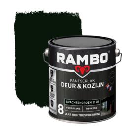 Rambo Pantserlak Deur en Kozijn Dekkend Hoogglans Grachtengroen 1128 2,5 Liter