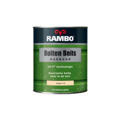 Rambo Buitenbeits Dekkend Zandgeel 1118 750 ml