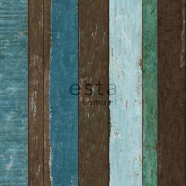 Esta Home Vintage Rules - Sloophout Behang - 138252