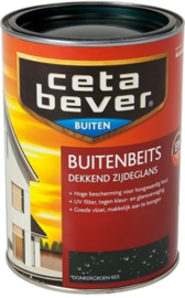 Cetabever Buitenbeits Dekkend Donkergroen 605 1,25 Liter