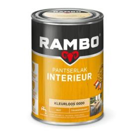 Rambo Pantserlak Interieur Kleurloos 0000 MAT 1,25 Liter