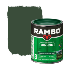 Rambo Pantserbeits Tuinhout Dekkend Lommergroen 1130 750 ml