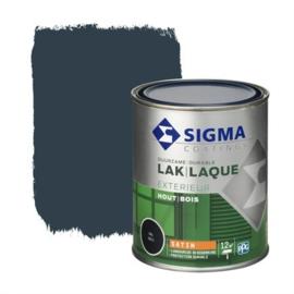 Sigma Lak Exterieur Hout Zijdeglans RAL 5011 750 ml