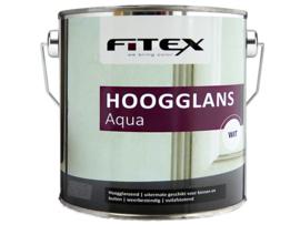 Fitex Hoogglans Aqua 2,5 Liter