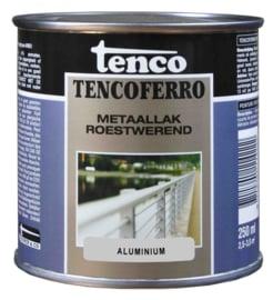Tenco Ferro Roestwerende IJzerverf  Zijdeglans Aluminium 250 ml