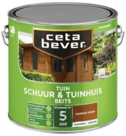 Cetabever Schuur & Tuinhuis Beits ZG Donker Eiken 009 2,5 Liter